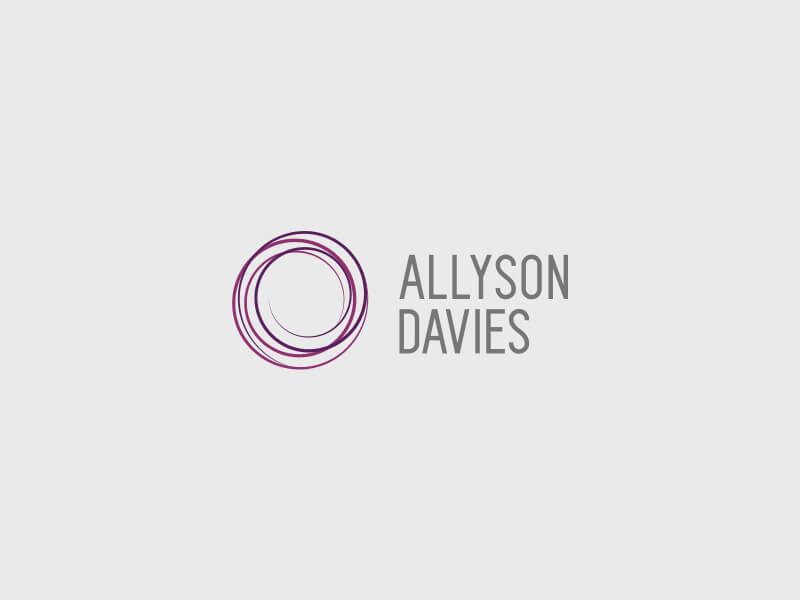 Allyson Davies Logo Design