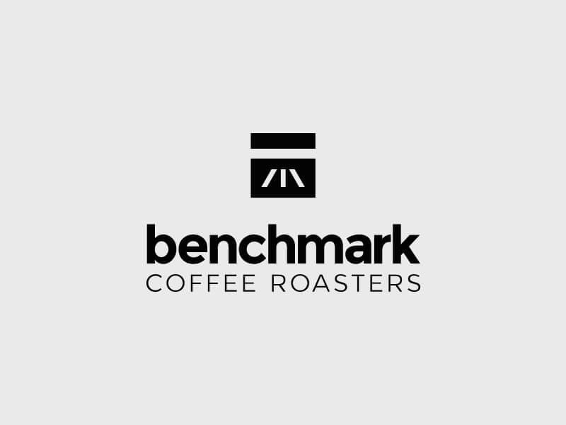 Benchmark Coffee Roasters Logo Design