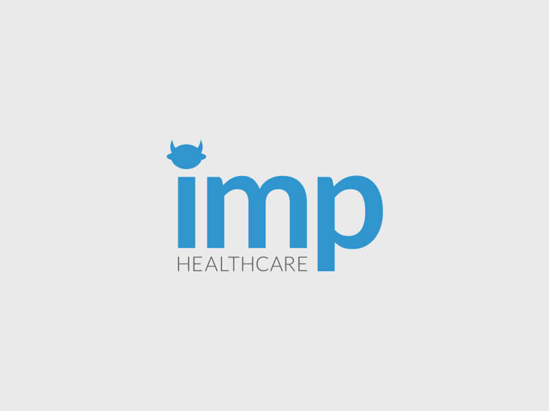 Imp Healthcare Logo Design