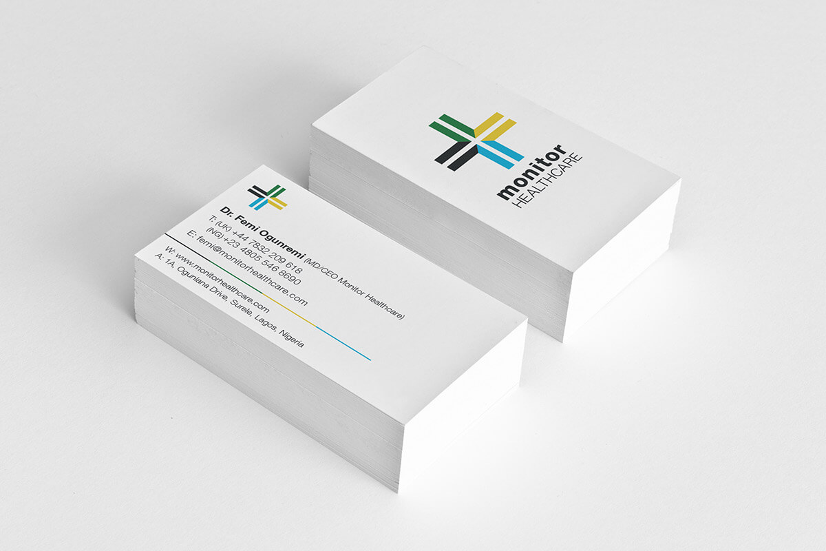 Monitor Healthcare Branded Stationery