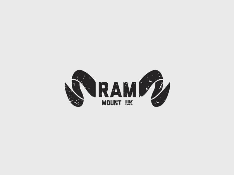 Ram Mount Logo Design