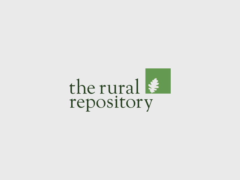The Rural Repository Logo Design