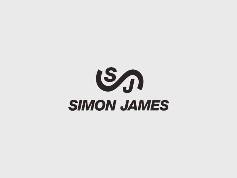 Simon James Logo Design