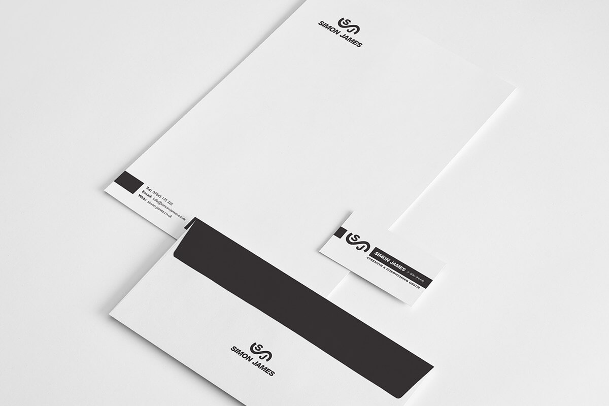 Simon James Branded Stationery
