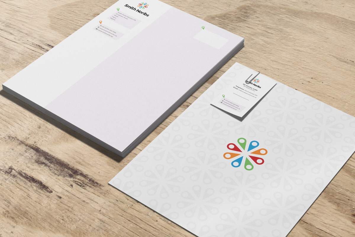 Smith Noribs Branded Stationery