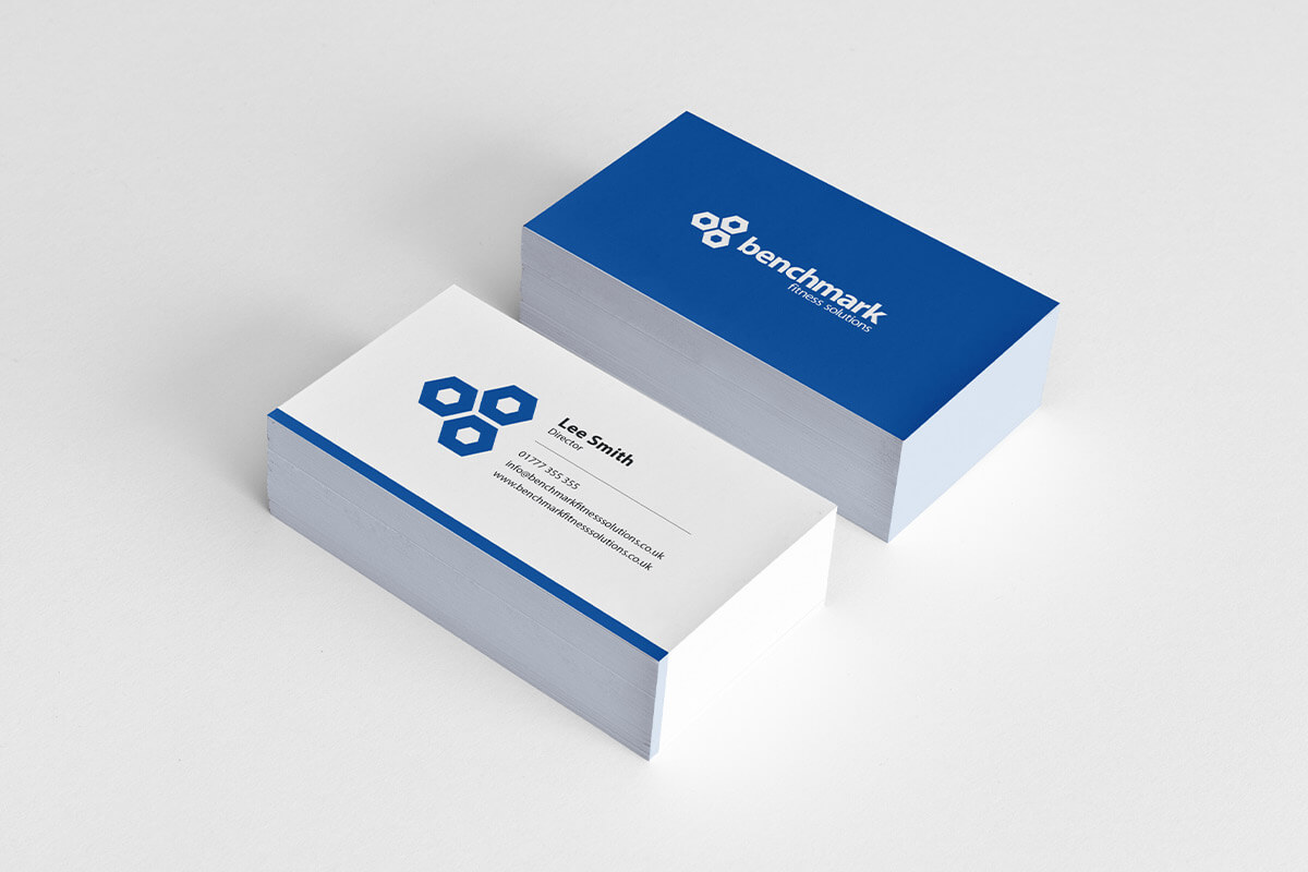 Benchmark Fitness Solutions Business Card