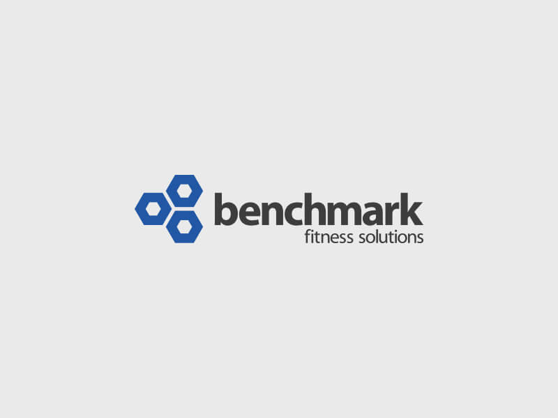 Benchmark Fitness Solutions Logo Design - Colour