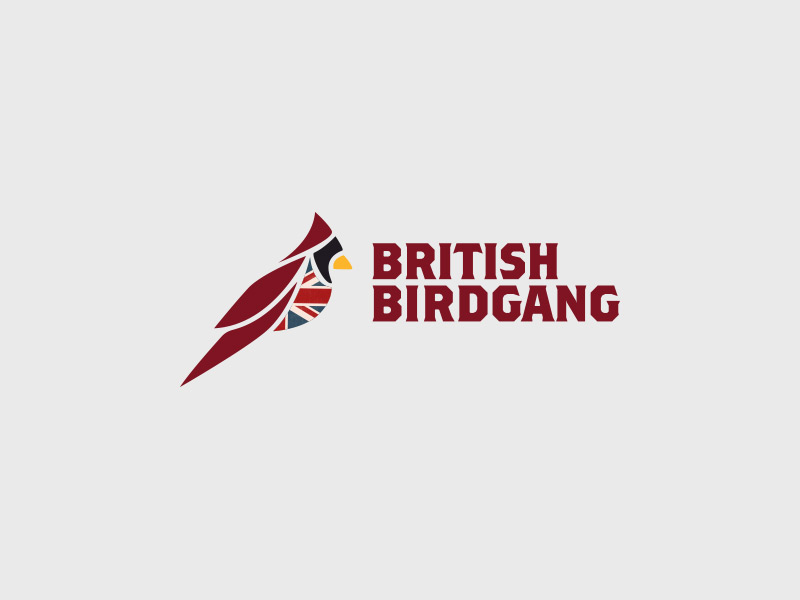 British Birdgang Logo Design - Colour
