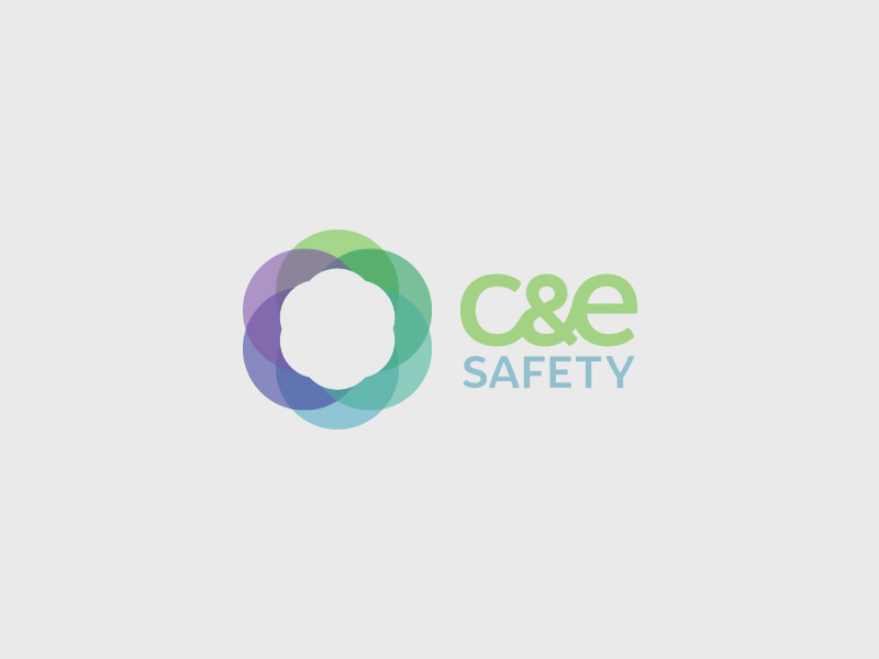 C&E Safety Logo Design - Colour