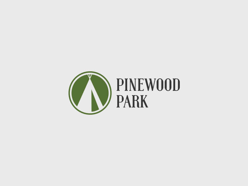 Pinewood Park Logo Design - Colour