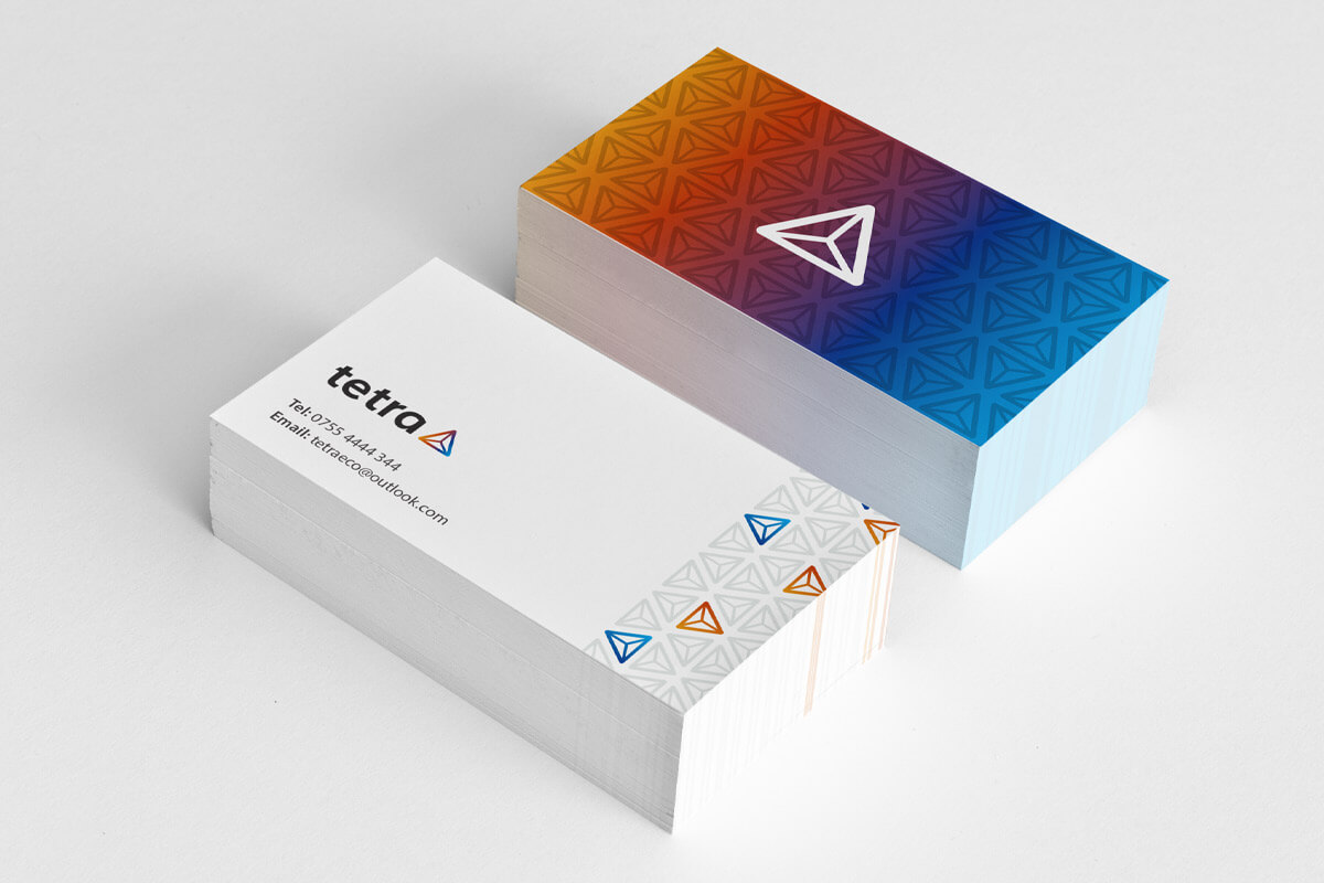 Tetra Business Card Design