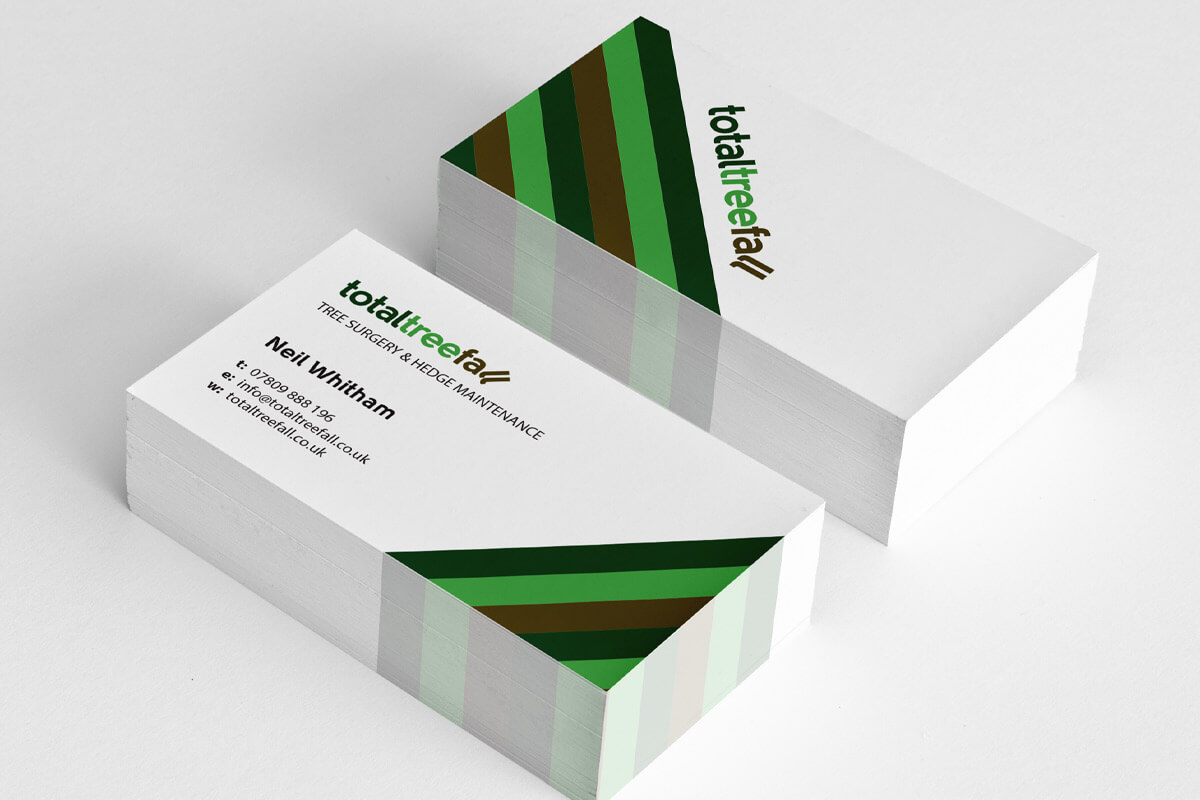 Total Tree Fall Stationery - Business Card