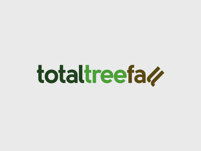 Total Tree Fall Logo Design - Colour