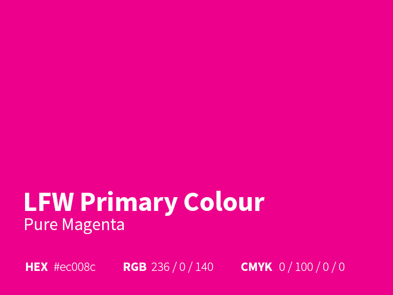 LFW Primary Colour - Magenta