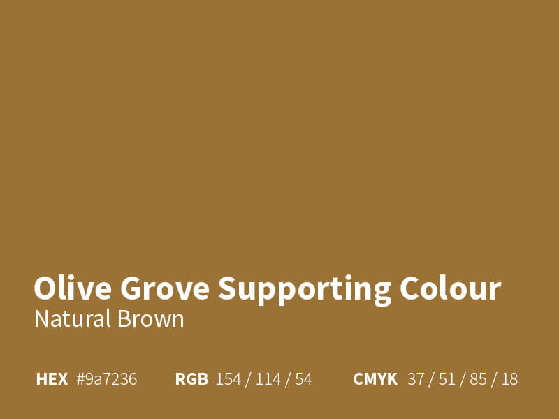The Olive Grove - Brown