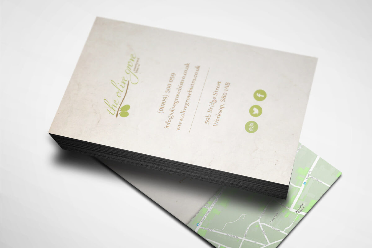 The Olive Grove Business Card