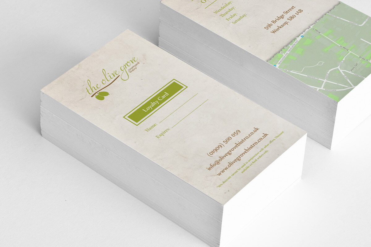 The Olive Grove Loyalty Card