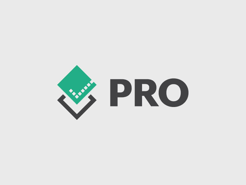PRO Building Control Condensed Logo Design - Colour