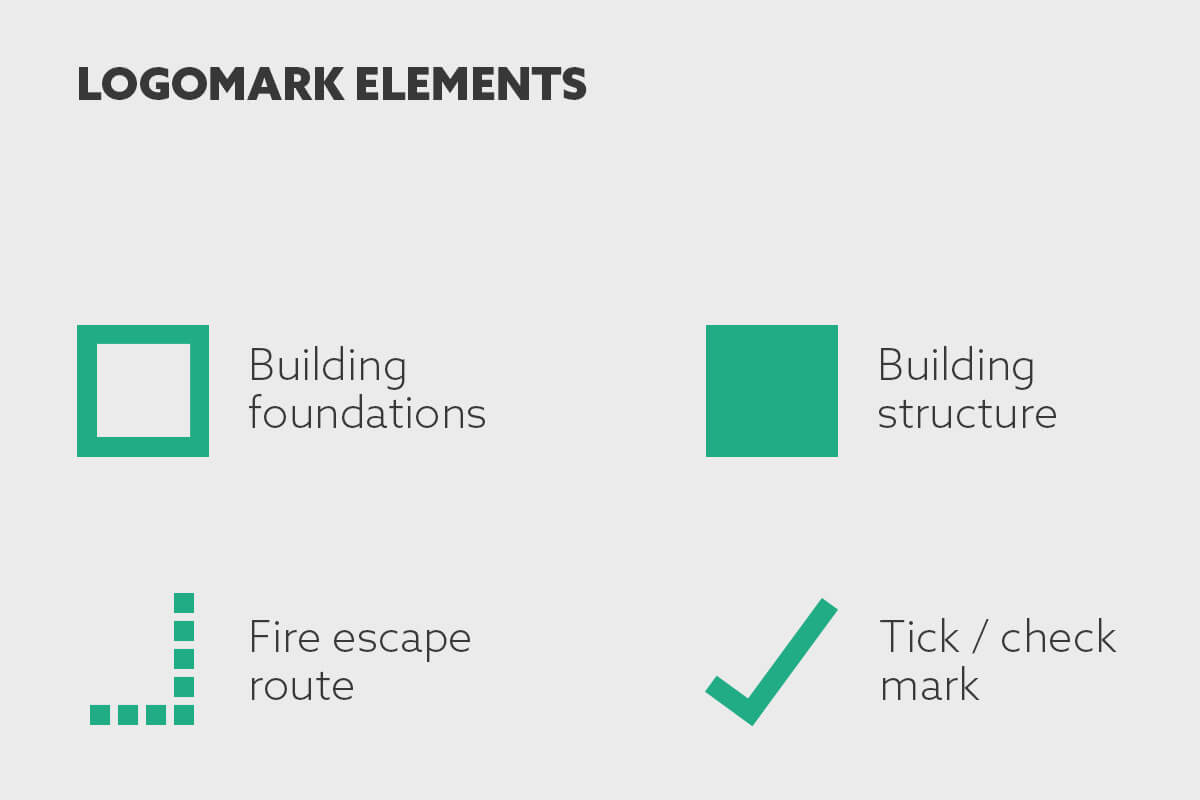 PRO Building Control - Logomark Elements