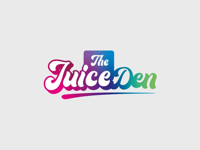 The Juice Den Logo - Colour